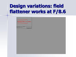 Field Flattener Design Ppt Optical Design For A 32 Inch All Spherical Relay