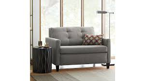 adorable twin sleeper chair karnes twin sleeper sofa chair crate and barrel