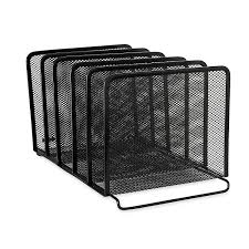 com rolodex mesh collection stacking sorter 5 section black 22141 file sorters office s