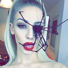perfect spider makeup