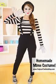 mime costume easy homemade costume