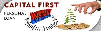 Capital First Personal Loan Instant Personal Loan Ruloans