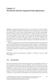 essay terrorism essay on terrorism blog ultius ignorance essay  ignorance essay terrorism and the argument from ignorance springer