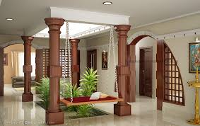 Small Picture beautiful houses interior in kerala Google Search courtyard