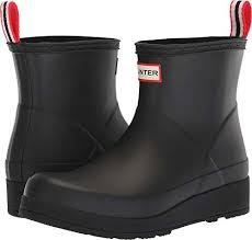 Hunter Womens Original Play Boot Short Rain Boots Outdoor