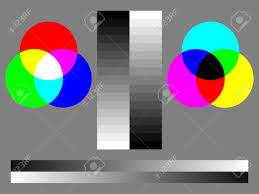 Color Calibration Chart Monitor Calibration Color Test Chart With Rgb Cmyk 16 Step