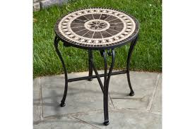 gibraltar 20 round marble mosaic table top