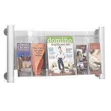 Acrylic Magazine Holder For Treadmill Awesome Literature Displays School Furniture At SCHOOLSin