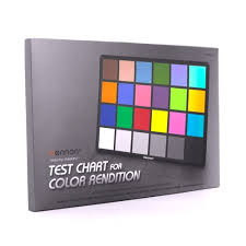 Small Color Chart Mennon Test Chart For Color Rendition Small