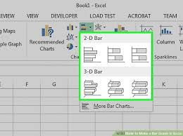 Excel In Cell Bar Chart How To Make A Bar Graph In Excel 10 Steps With Pictures