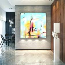 large abstract canvas art for living room