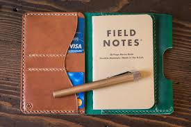 the park sloper wallet notebook pen three sizes