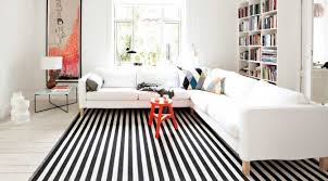 black and white striped rug nonsensical tip of the week rugs d cor aid decorating ideas