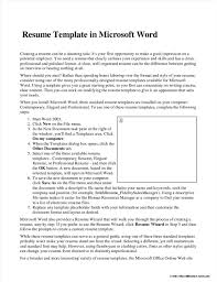 Awesome Resume Wizard Word 2003 Download Images Example Resume