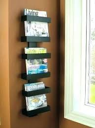 Magazine Holder For Office New Magazine Rack Plans Tanahkavling