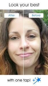 pixtr auto makeover face retouch and makeup app screenshot 1