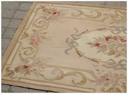 aubusson rug 3x5 antique french pastel