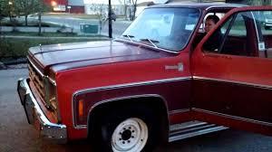 1979 Chevrolet C20 old start, sat for years - YouTube