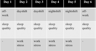 Typical Participant Work And Assessment Schedule Download