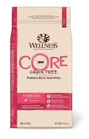 Wellness Core Puppy Feeding Chart Core Dry Formula Cat Sterilised Salmon Tuna Wellness