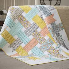 Contemporary Quilt Patterns Beauteous Free Modern Quilt Patterns U Create