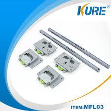 2018 whole roller track furniture cabinet sliding door roller with buffer system kure hardware