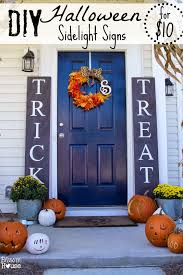 bless er house diy sidelight signs and fall porch reveal