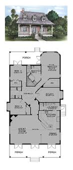 1000 ideas about narrow house plans on small cottage best house plans with