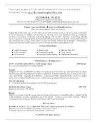 Daycare Resume Inspiration 9021 Sample Resume For Child Care Worker Childcare Worker Resume