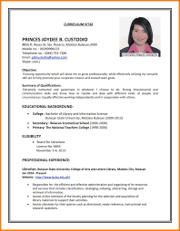 Resume 10 How To Do A Resume For A Job Cover Letter How To Make