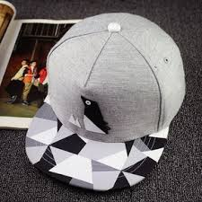 <b>New</b> men's summer <b>fashion</b> paper fold plastic logo bone baseball ...