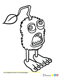 Monster Coloring Pages Printable Monsters Coloring Pages Printable