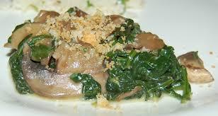 Creamy Parmesan Spinach & Mushrooms - StolenRecipes.net