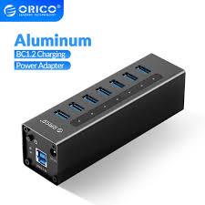 <b>ORICO</b> A3H Series Aluminum <b>High Speed 4</b>/7/10 Port USB 3.0 HUB ...
