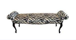 zebra print bedroom furniture. Vintage Bank Converts Zebra Chenille Schlafzimmermöbel - A Bedroom Bench With Animal Pattern Is One Of The Coolest Furniture At Print E