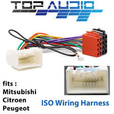 mitsubishi iso wiring harness stereo radio plug lead wire loom mitsubishi eclipse radio wiring harness at Mitsubishi Wiring Harness