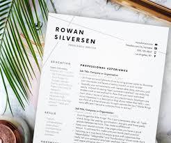 modern resume resume template modern resume resume for word cv template cover letter resume instant mini st professional resume design