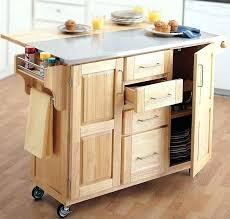 movable kitchen island with storage cart seating desired furniture cream wooden islands carts rolling