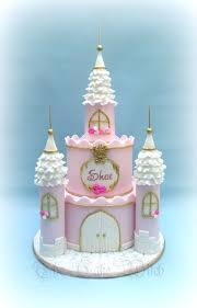 Princess Castle Cake By Nessie The Cake Witch Cakes In 2019