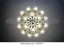 glass bulb chandelier round glass chandelier crystal glass chandelier view from bottom round shape round glass