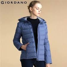 puffer winter coat women down jacket hood puffer winter jacket stand collar long sleeves solid down puffer winter coat