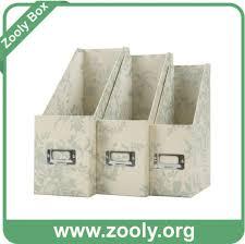 Cardboard Magazine File Holders China Cardboard File Holder Magazine File Box Desktop File Holder 80