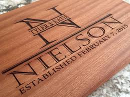 personalized gifts cutting board wood cutting boards bridal shower for