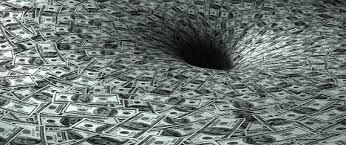 Image result for pictures of money black hole