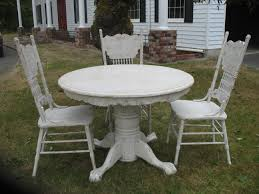 distressed white dining set white round dining table set white resin wicker dining chairs ikea chairs