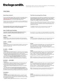 Graphic Design Courses Price The Logo Smiths Logo Design Price List Smith Gl Y0bg9s
