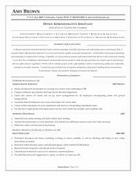 Resume Objective Examples Administrative Assistant Position New