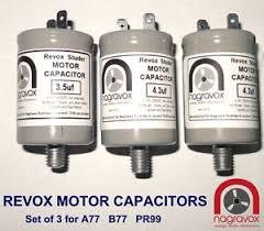 image is loading new motor capacitors set for revox a77 revox