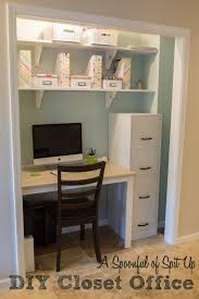 office closets. Building A Desk In Closet Pict Photo Gallery Office Closets I