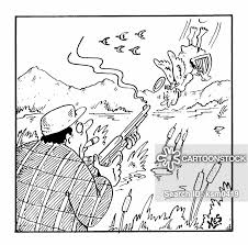 Cartoon Hunter Shooting Best Home Wallpaper